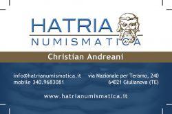 HATRIA NUMISMATICA di Christian Andreani