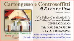 CARTONGESSO e CONTROSOFFITTI Lodi