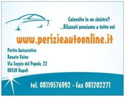 RENATO VAINO PERITO ASSICURATIVO - PERIZIE AUTO ONLINE